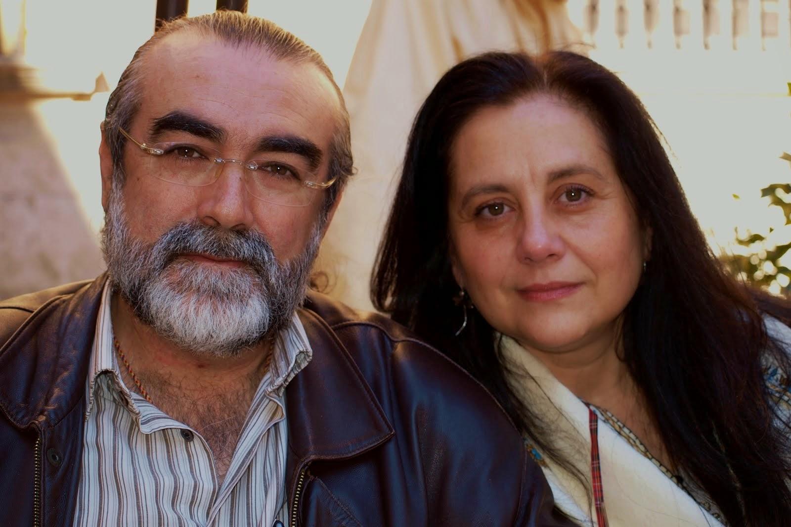 Junto a Miguel Angel, mi esposo, mi compañero