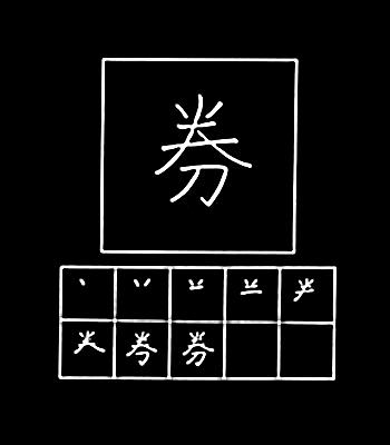 kanji tiket