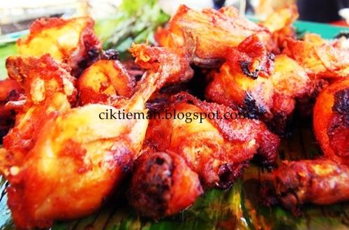 Resepi masakan Ayam goreng berempah.