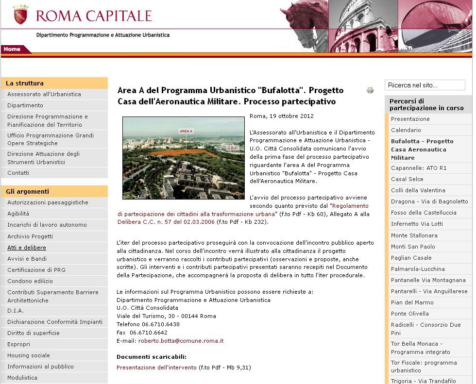 Tg roma talenti non c 39 limite al demenziale cemento che for Pdf del programma della casa