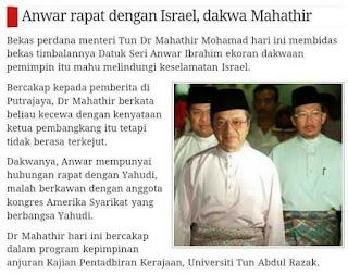 Apa Kata Mahathir Mengenai Anwar