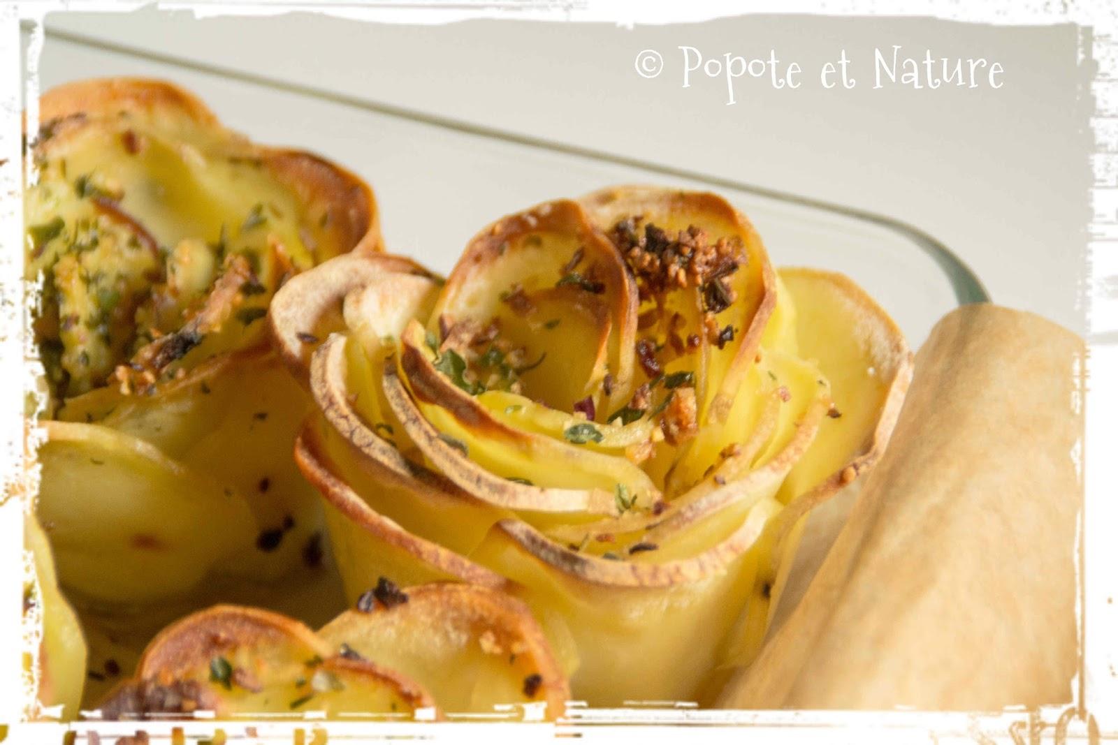 popote et nature j 39 ai revisit les pommes de terre sarladaises. Black Bedroom Furniture Sets. Home Design Ideas