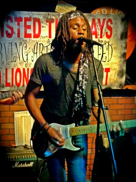 Evan Taylor Jones plays at Twisted Tuesday at the Red Lion Pub