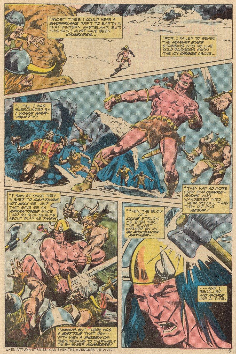 Conan the Barbarian (1970) Issue #69 #81 - English 5
