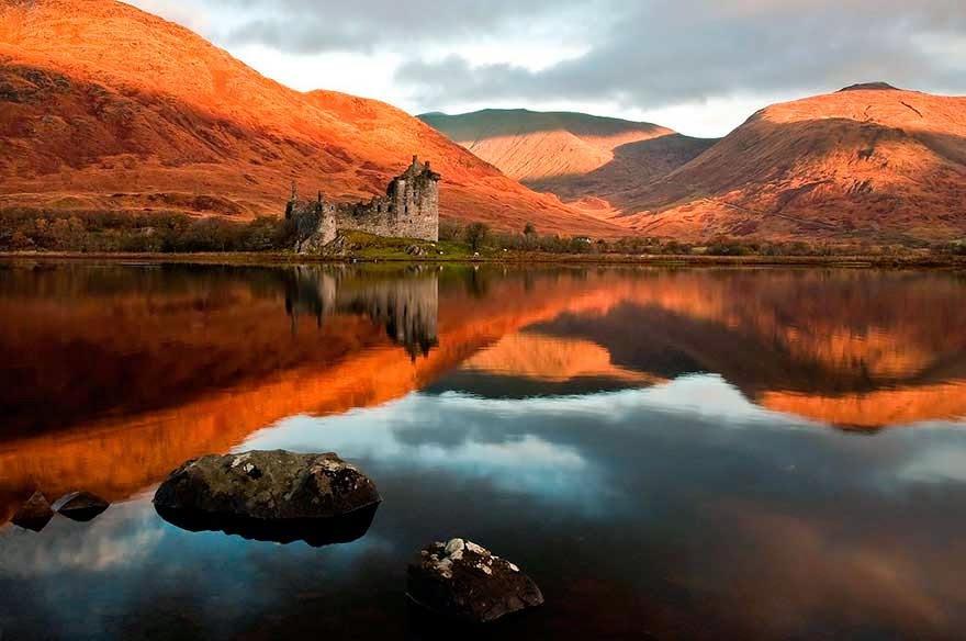 Castillo Kilchurn (Escocia)