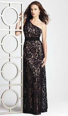 Dantel Gece Elbise Modelleri 5