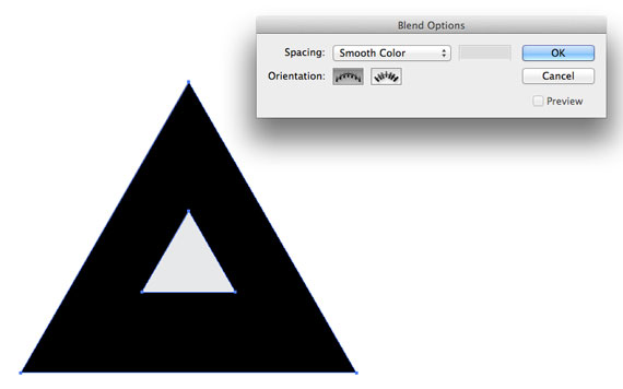 blending example in illustrator screen shot