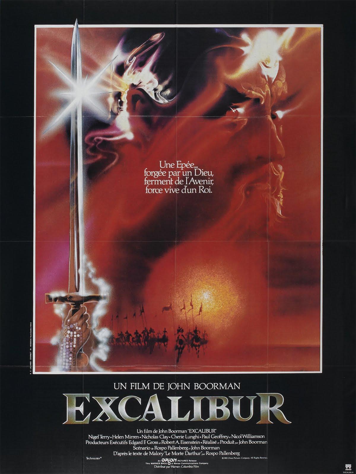 movie memorabilia emporium excalibur french grande