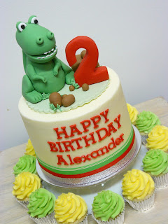 Dinosaur Cake Brisbane