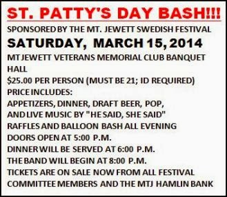 3-15 St. Patty's Day Bash