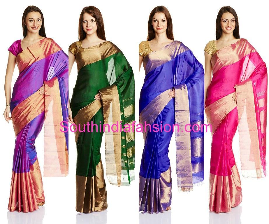 light weight silk sarees online