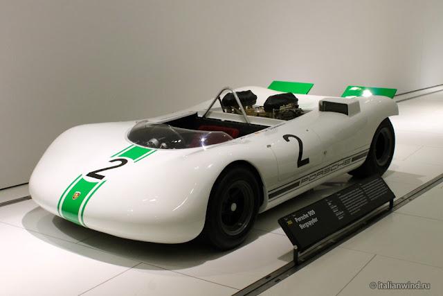 Porsche 909 Bergspyder, 1968 г.