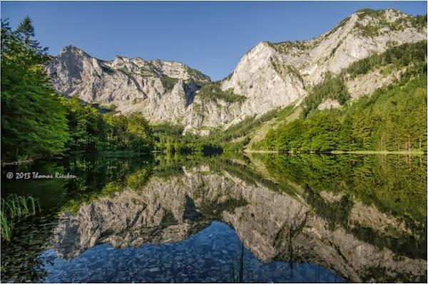 Mount Lake Reflection