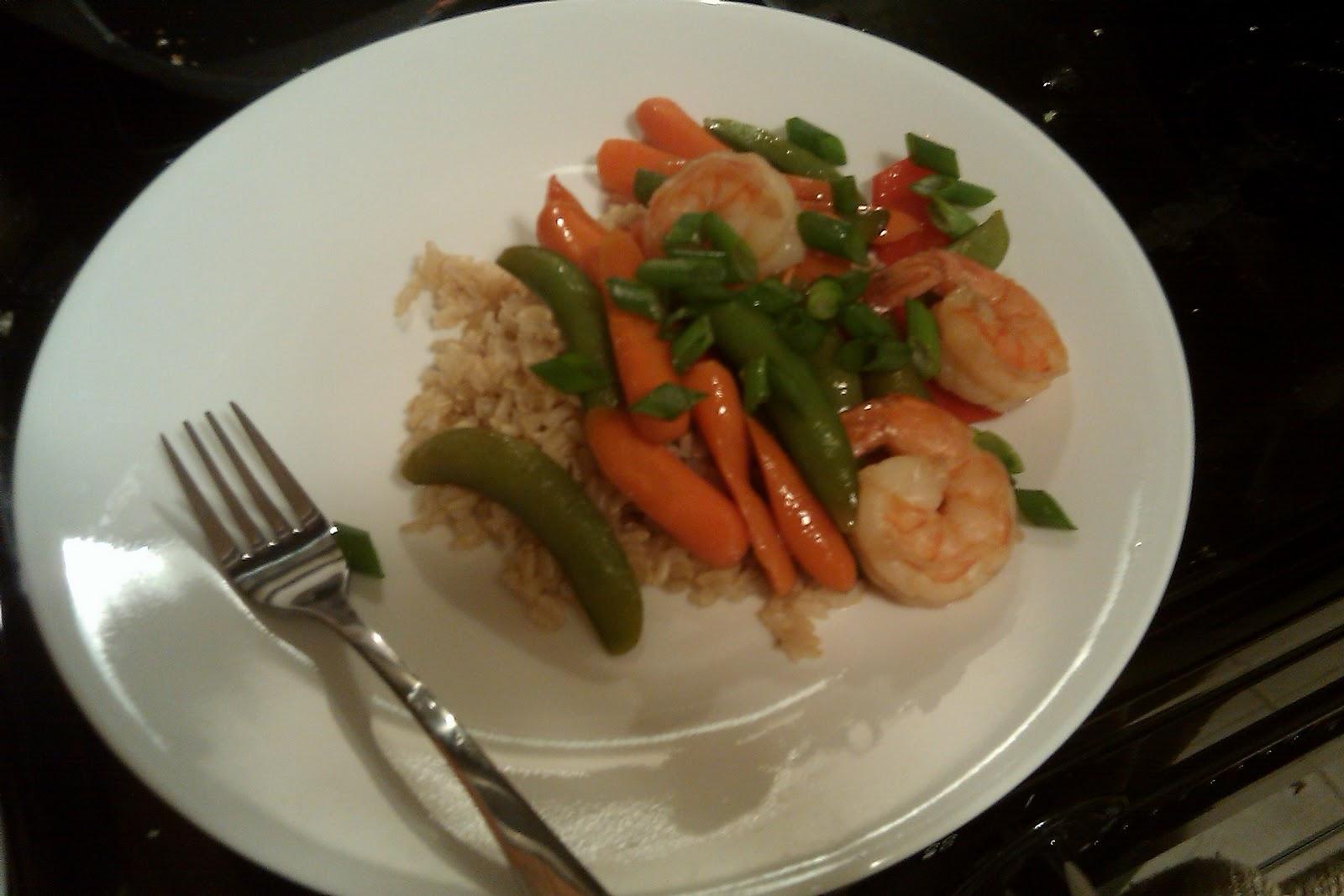 how to cook frozen shrimp for stir fry