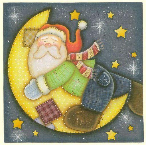 claus y arbol de navidad dibujos santa claus para imprimir