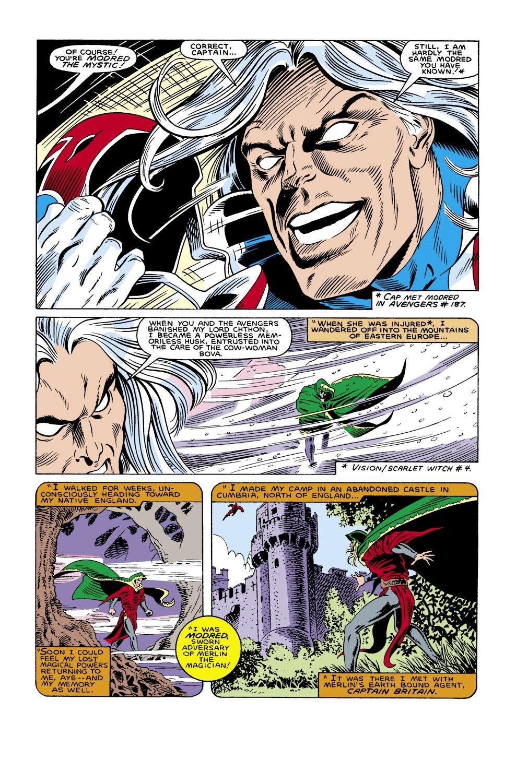 Captain America (1968) Issue #305 #233 - English 21