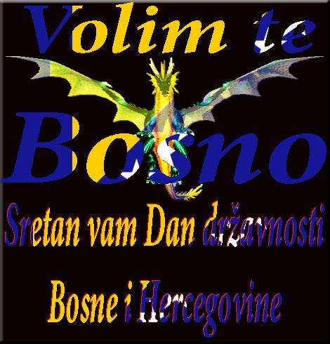 Dan državnosti Volim te Bosno