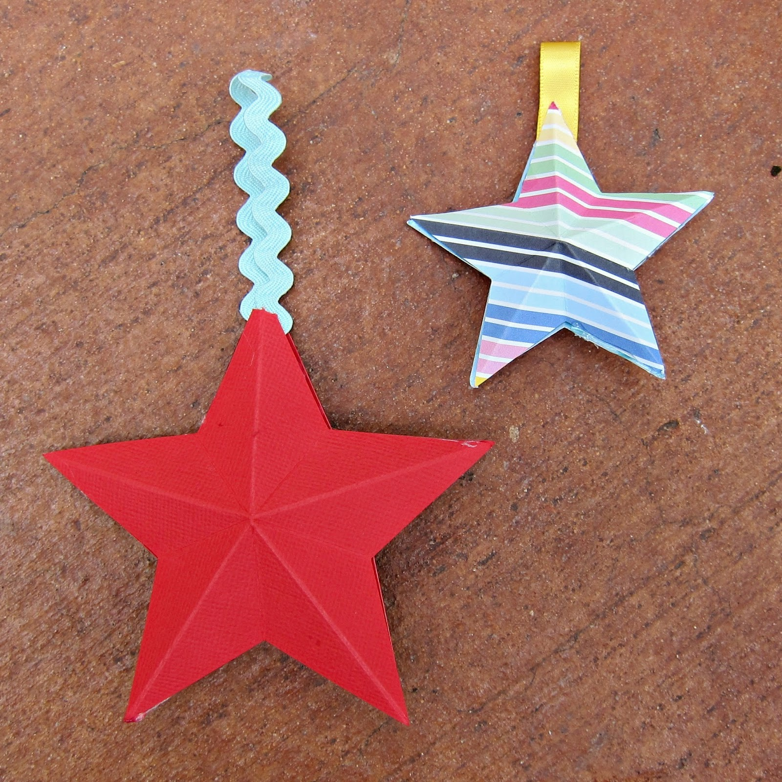 How to Make 3D Paper Stars