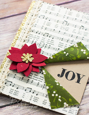 Musical Joy Christmas Card featuring products from Stampin' Up! UK.  Get them all here
