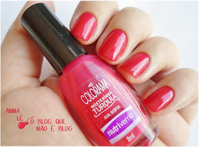 esmalte nailpolish colorama rosa aya sofia