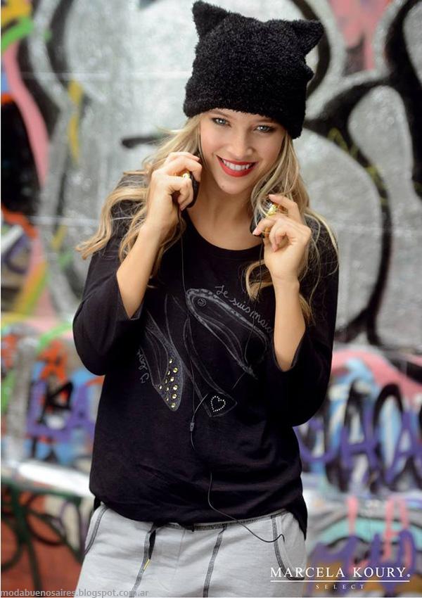Moda invierno 2014 Argentina - Marcela Koury Select ropa de mujer de moda otoño invierno 2014.