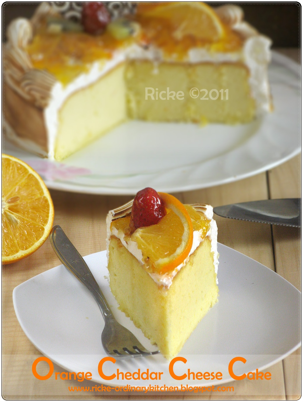 Resep Cheese Cake Ricke Ordinary Kitchen