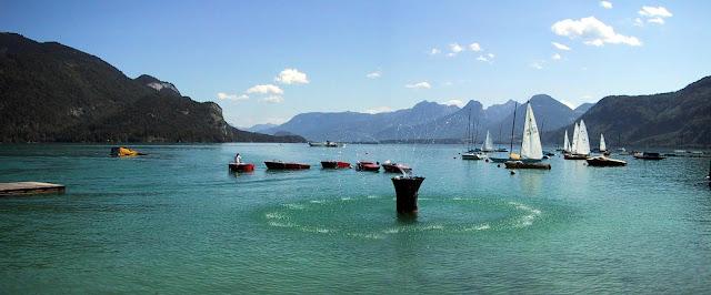 Lago Saint Gilgen en Austria - que visitar