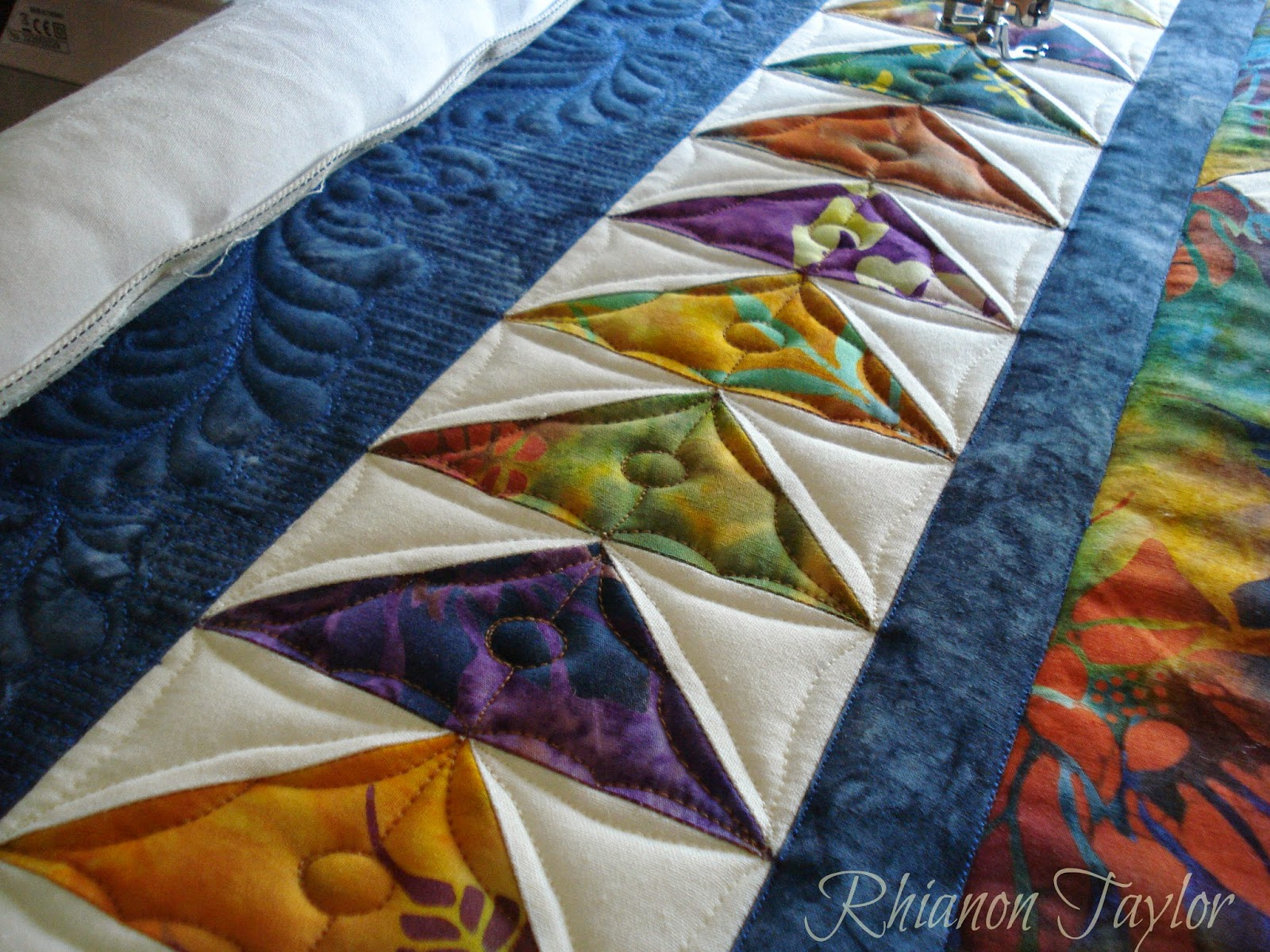 Free Motion Quilting Designs For Sashing : 1000+ ideas about Longarm - Border, Sashing, Setting Triangles on Pinterest Quilting, Free ...