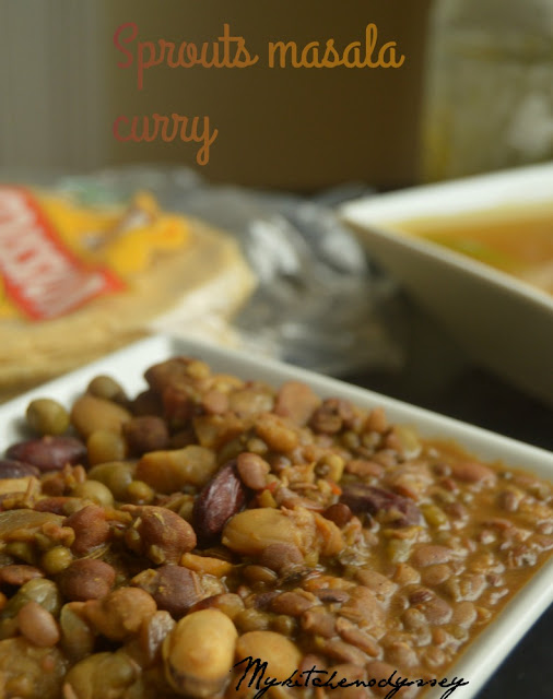 sprouts masala curry recipe2