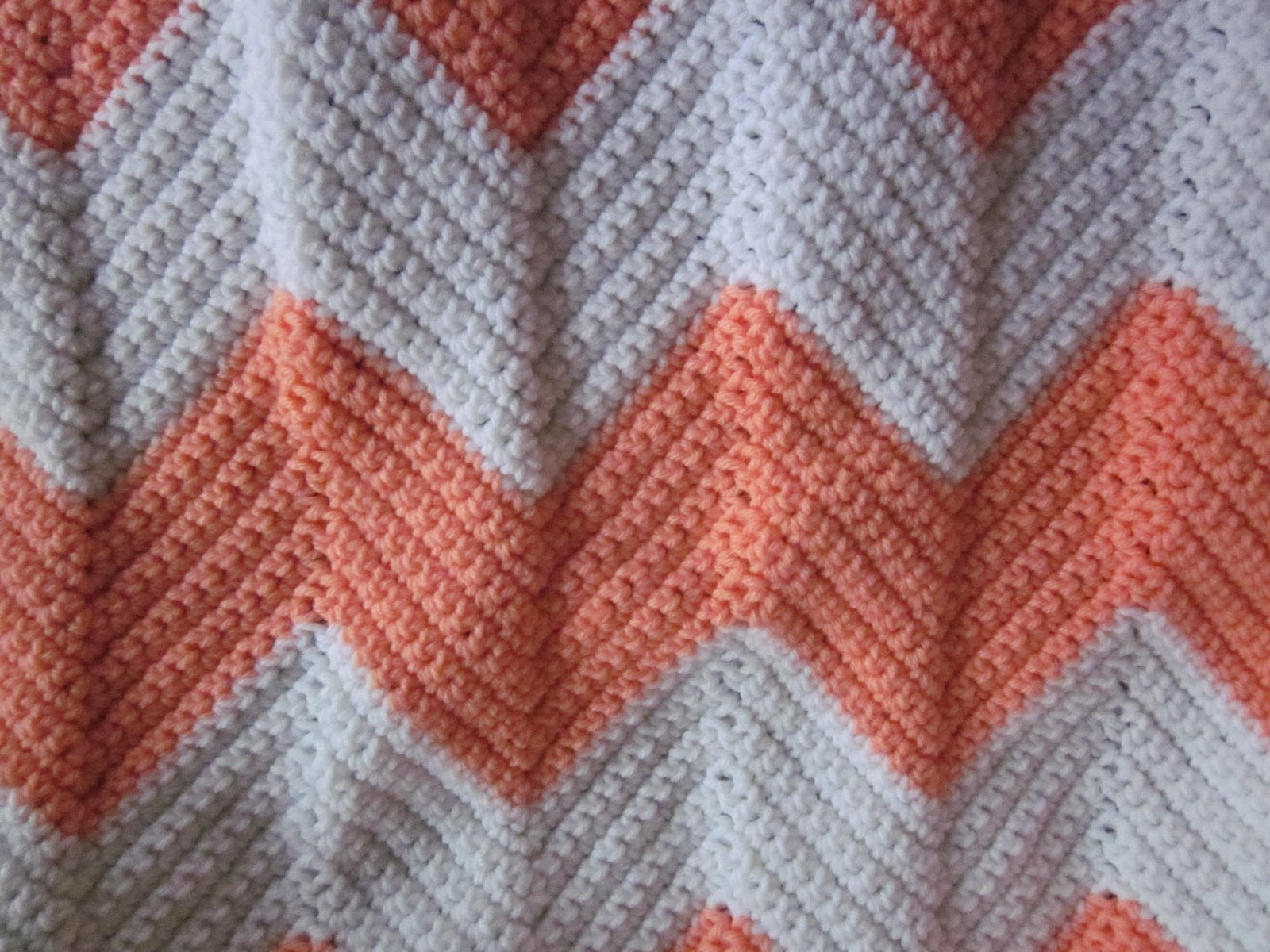 It\'s A Long Story: Crocheted Chevron Baby Blankets