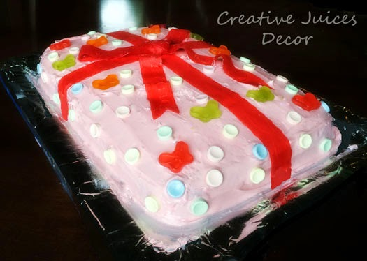 Creative Juices Decor Easy Do It Yourself Frosted Birthday Cake Ideas