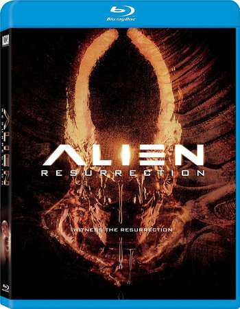 Poster Of Alien Resurrection 1997 English  300MB    Free Download Watch Online