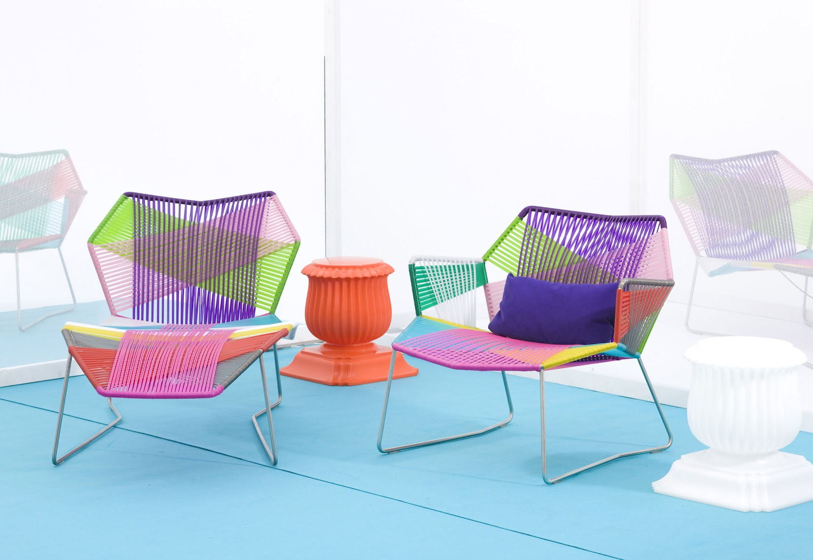 Tropicalia armchair by Moroso Designer furniture fitted