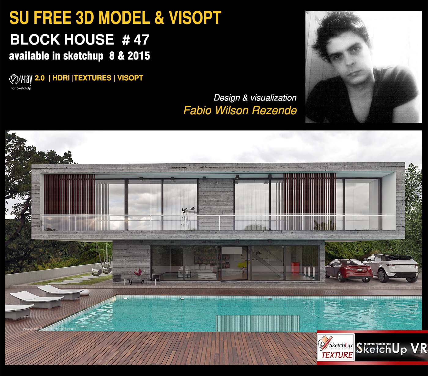 Sketchup texture excellent free sketchup model concrete for House rendering software free