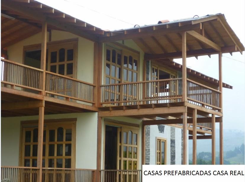 Casas prefabricadas casa real octubre 2013 - Cabanas casas prefabricadas ...