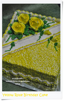Yellow Rose Cake
