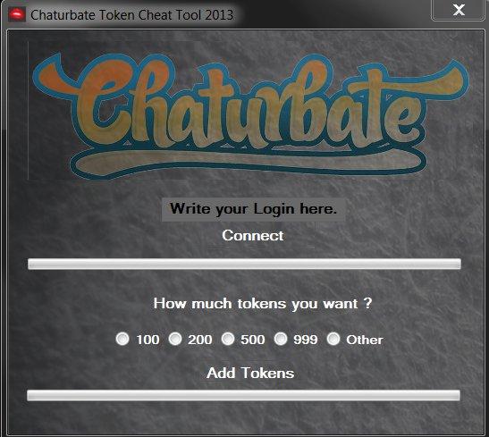 Hack chaturbate password token Chaturbate Tokens