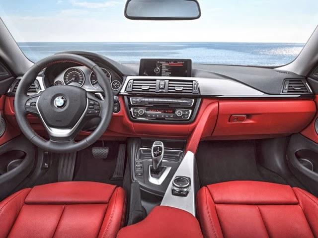 BMW 4 Series coupe 2013 interior