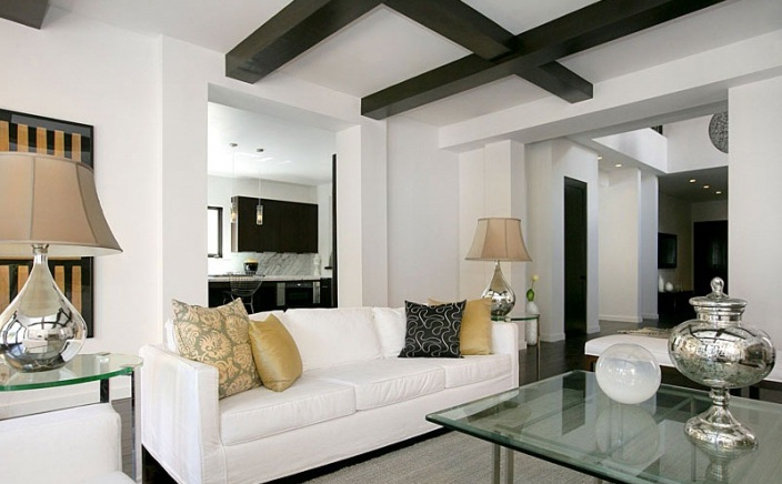 Easy Living Room Ideas With Black And White Combo | Luck ...