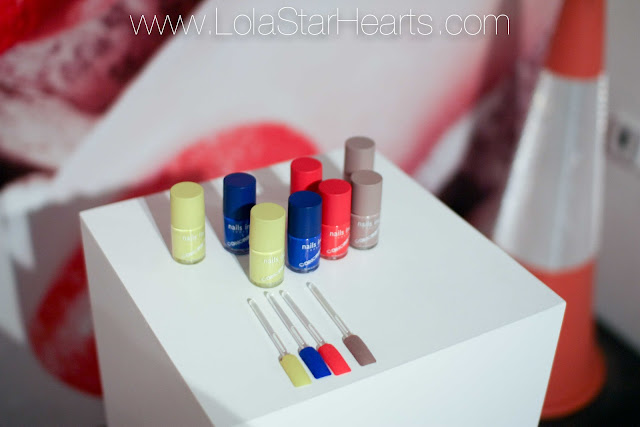 nails inc concrete launch review swatch photo