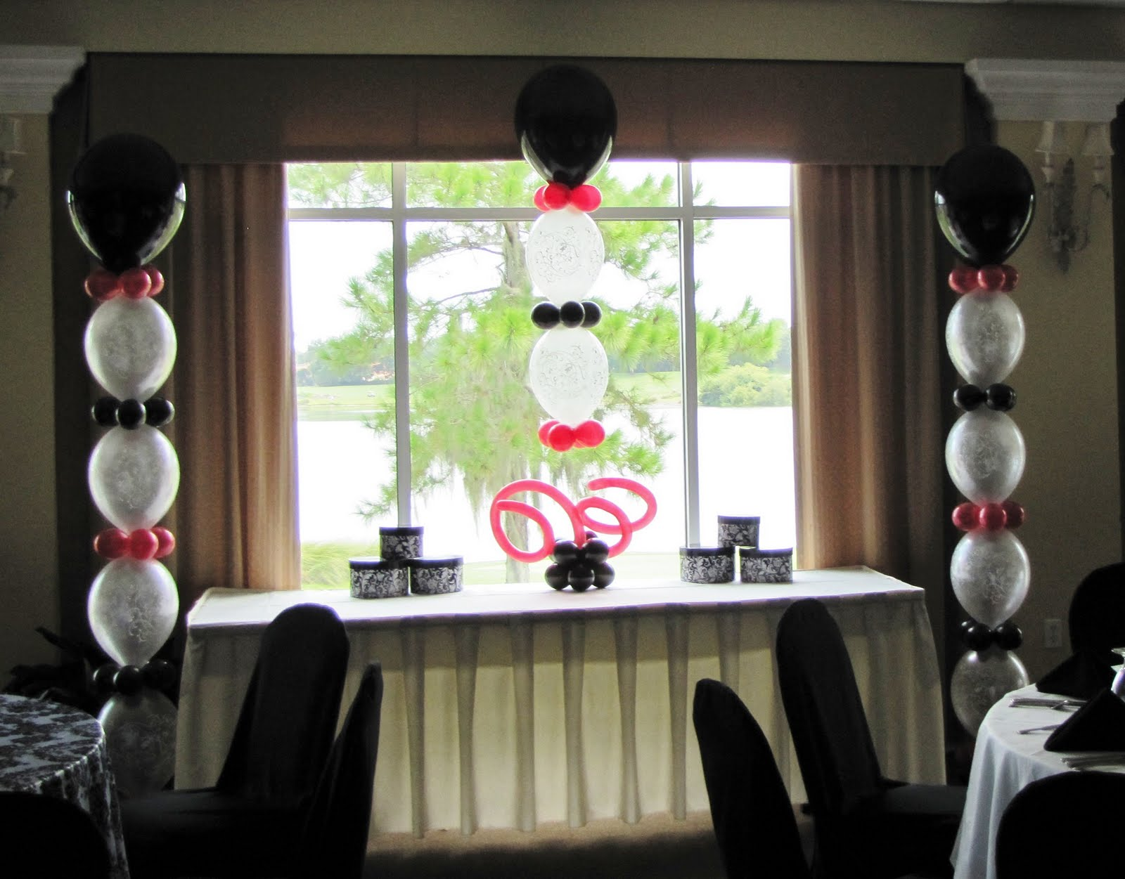 Party People Event Decorating Company: 80th Birthday, Eaglebrooke