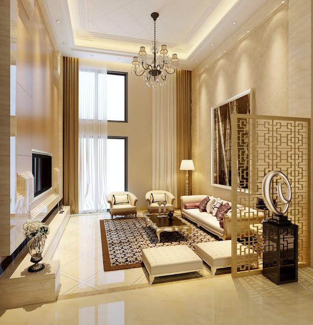 Mẫu trần thạch cao cao cấp căn hộ penthouse