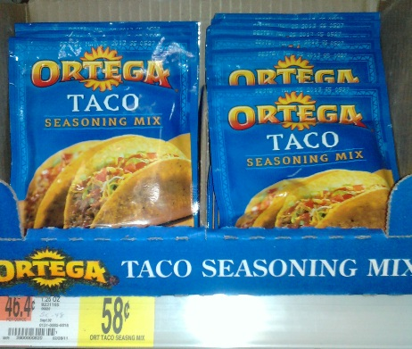 ... trip yesterday walmart ortega taco seasoning $ 58 $ 1 off 2 print