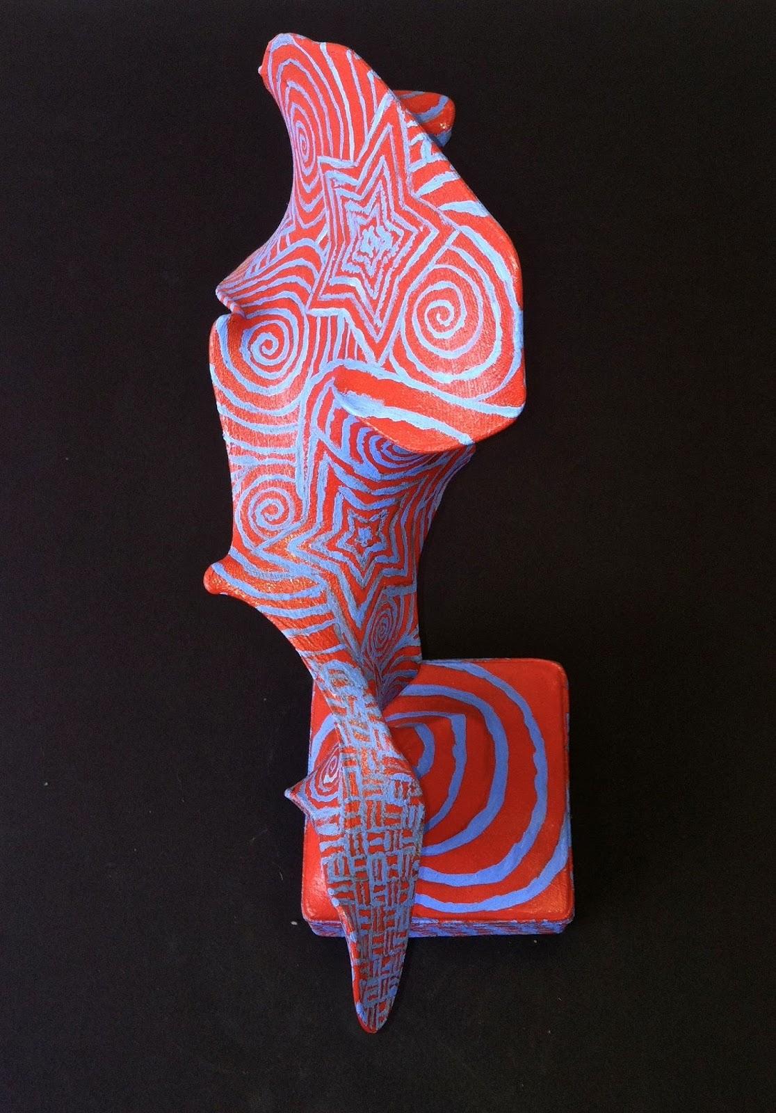 Op Art Wire Sculptures
