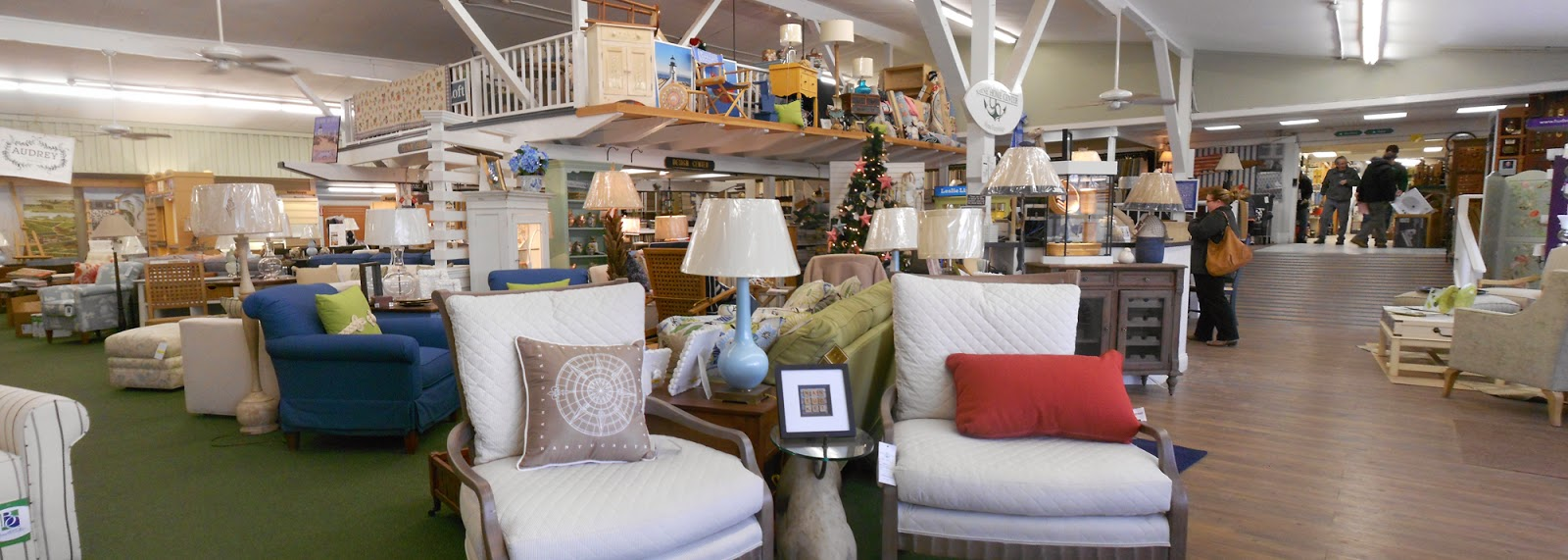 Marine Home Center's Home Furnishings Department