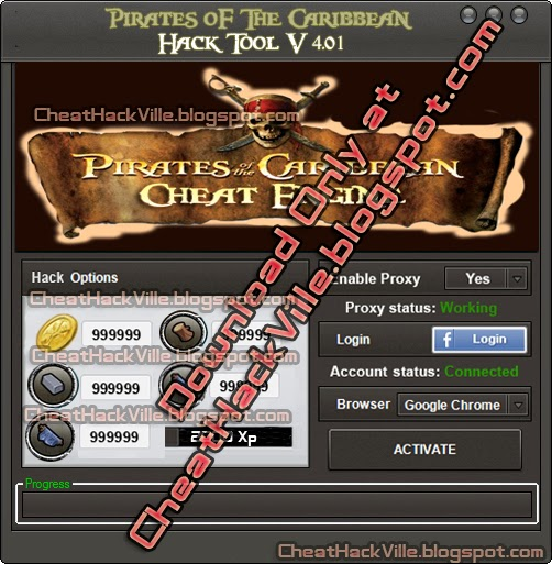 Pirates of the caribbean Cheat Engine