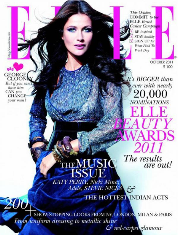 Kim Johnson - Elle India October 2011