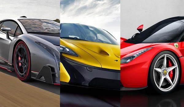 Dünyanın En Pahalı Süper Arabaları