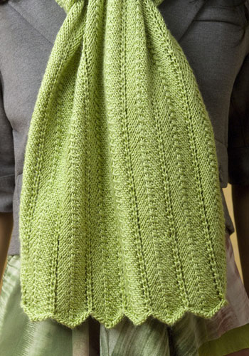New Knitting Patterns : free knitting pattern: new rectangular knitting shawl patterns
