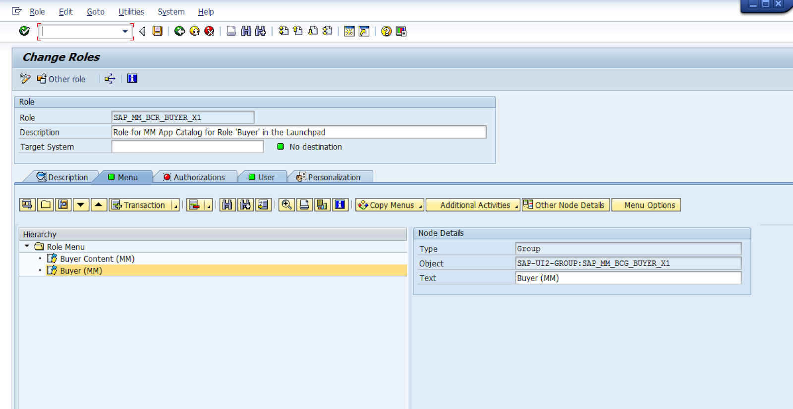 SAP Fiori - Role for Track Purchase Order (MM Buyer)
